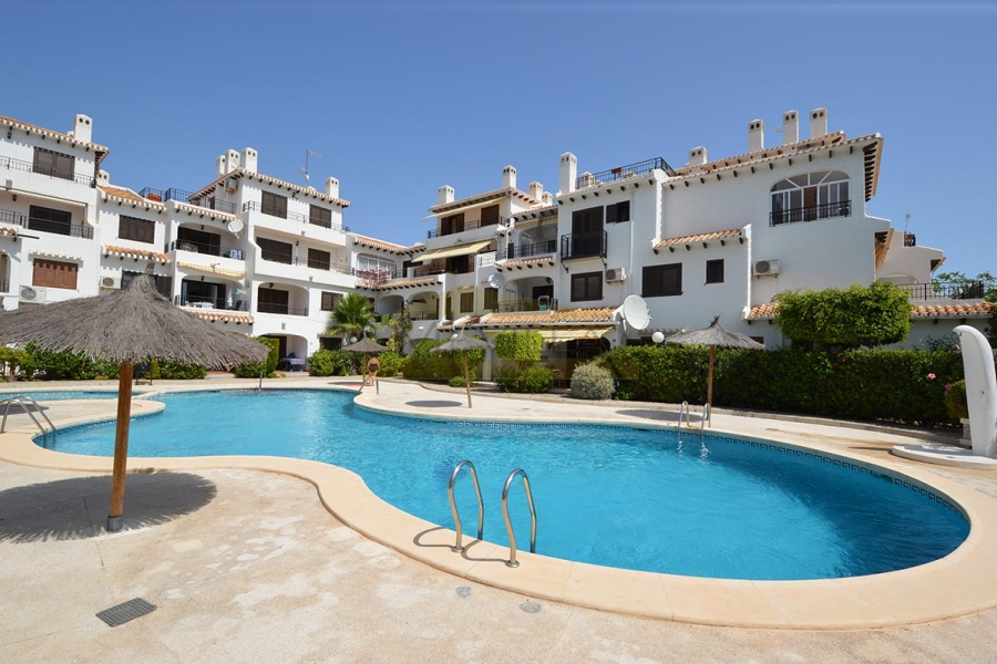 A ground floor apartment with private terrace in Bellavista V, Cabo Roig