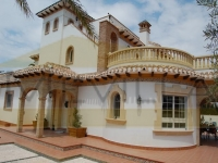 The luxury villa in Cabo Roig